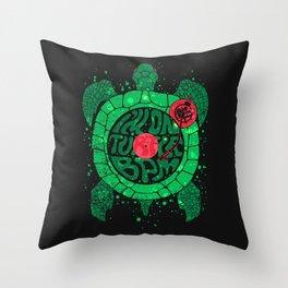 Turtle BPM Throw Pillow