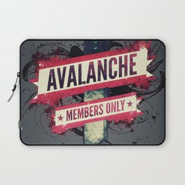 Final Fantasy VII - Avalanche Member's Only Laptop Sleeve