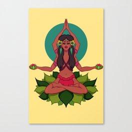 Yanomamix Canvas Print