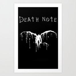 Death Note Art Print