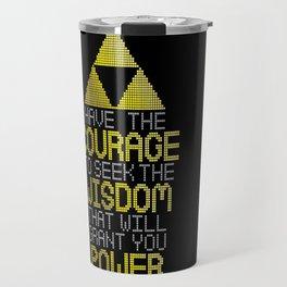 Triforce Motivational Travel Mug