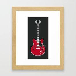 RAD GUITARS - Chuck Berry Framed Art Print