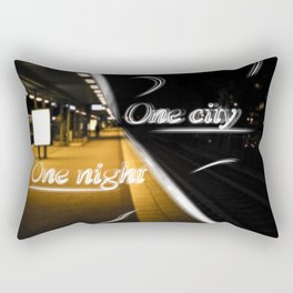 One City One Night Rectangular Pillow
