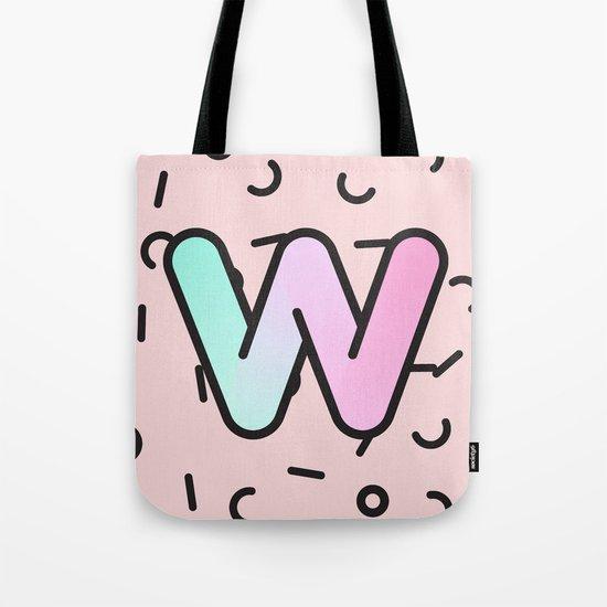 Wacky W Tote Bag