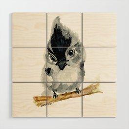 Judgy Little Bird Wood Wall Art