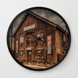 Victorian Sawmill Wall Clock