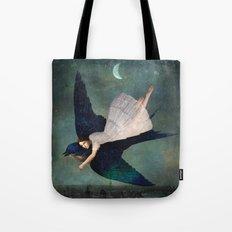 fly me to paris Tote Bag