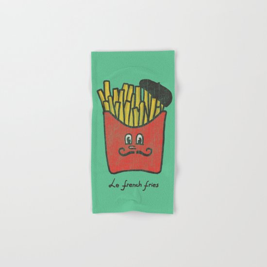 French Fries Hand & Bath Towel