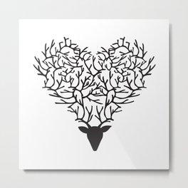 Deerest Heart Metal Print