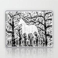 Haunting Unicorn Laptop & iPad Skin