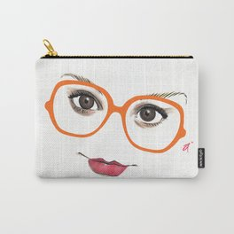 Hipster Eyes 2 Carry-All Pouch