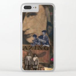 Amazing Beasts Clear iPhone Case