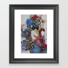 Arlekino Framed Art Print