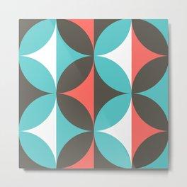 Circles in bloom Metal Print