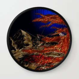 Fragment of Sorrow Wall Clock