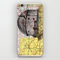 oklahoma iPhone & iPod Skins featuring Oklahoma by Ursula Rodgers