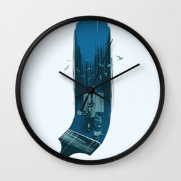 Nature study Wall Clock