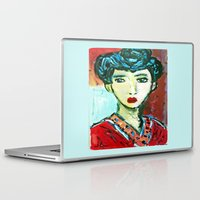 matisse Laptop & iPad Skins featuring LADY MATISSE IN TEEN YEARS by JANUARY FROST