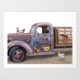 The Flock Spot Art Print