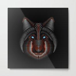Wolflike Metal Print