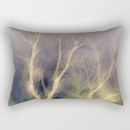 Mystic trees inverted Rectangular Pillow