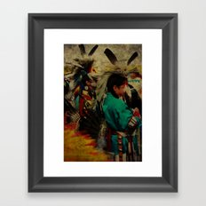 Usdi Alasgisda Framed Art Print