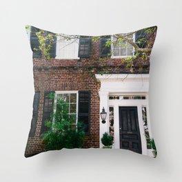 Charleston Architecture XLVIII Throw Pillow