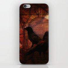 RAVENS WORLD edited iPhone & iPod Skin