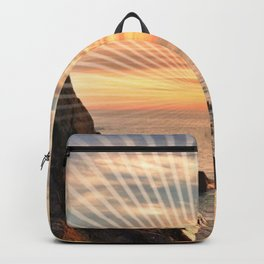 Californian sunset - Graphic sunset Backpack