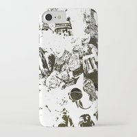 the who iPhone & iPod Cases featuring Who by Eternal