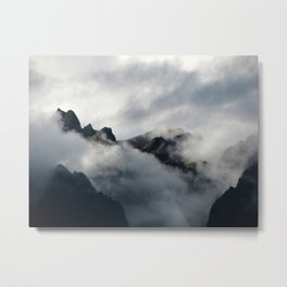 Shrouded in Mystery Metal Print