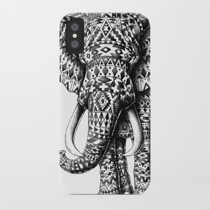 Tribal Elephant iPhone Case