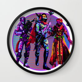 Fireteam Wall Clock
