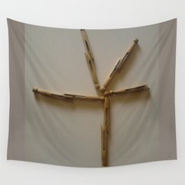 peg. Wall Tapestry
