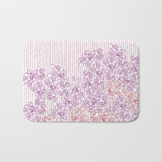 Springing in the blossoming Bath Mat