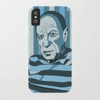 picasso iPhone & iPod Cases featuring Picasso by Alex Bardera