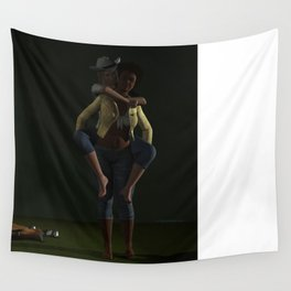 I wanna be a cowgirl Wall Tapestry