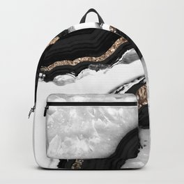 Agate Glitter Glam #2 #gem #decor #art #society6 Backpack
