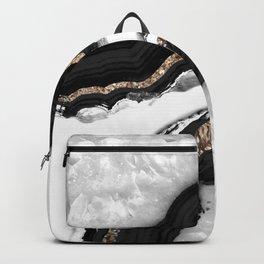 Agate Glitter Glam #2 #gem #decor #art #society6 Backpack
