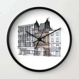 Bishopsgate Institute London by Charles Townsend Wall Clock