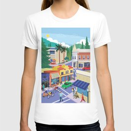Town of Los Gatos (A Day in the Life) T-shirt