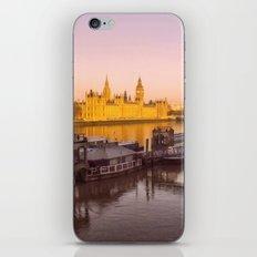 Cityscape London In Winter iPhone & iPod Skin