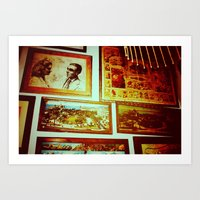 frame Art Prints featuring Frame by Charlie May