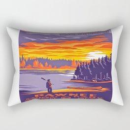 Pawnee National Park Rectangular Pillow