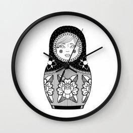 The Russian Doll Wall Clock