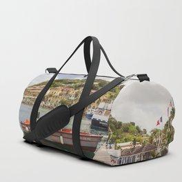 Marigot, St Martin Duffle Bag