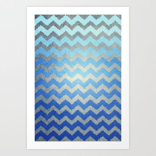 Thinking Of The Sea Art Print