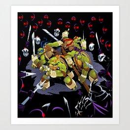 Heroes in a Half-Shell Art Print