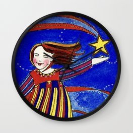 We Are Stars Wall Clock