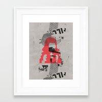 bug Framed Art Prints featuring bug by Paul Prinzip